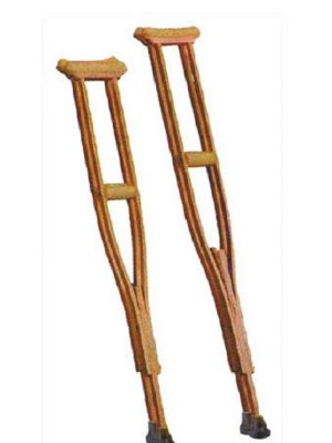 Underarm Crutches – Wooden